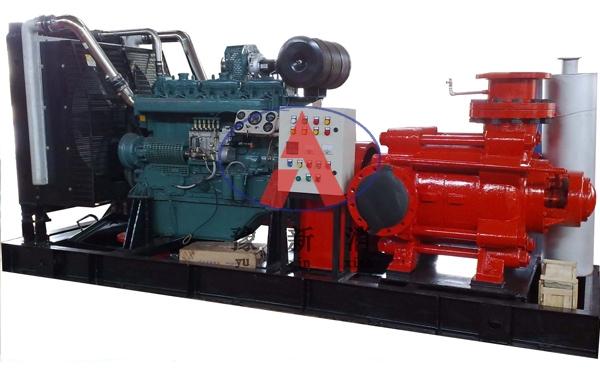柴油机消防泵组电调风冷D型泵