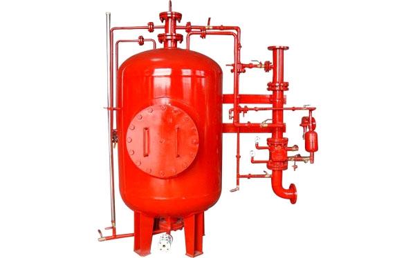 闭式泡沫-水喷淋装置