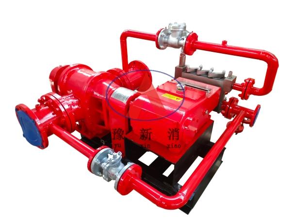 机械泵入式比例混合装置